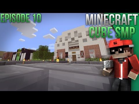 Minecraft Cube SMP! Ep. 10 - Casino Mods!