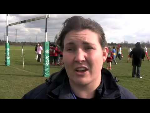 Girls Rugby at William Edwards