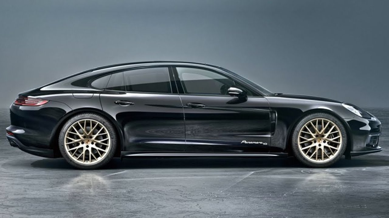 New 2020 Porsche Panamera Special Edition 10 Year Reveal Youtube