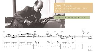 Joe Pass - There Is No Greater Love ( Solo Transcription )