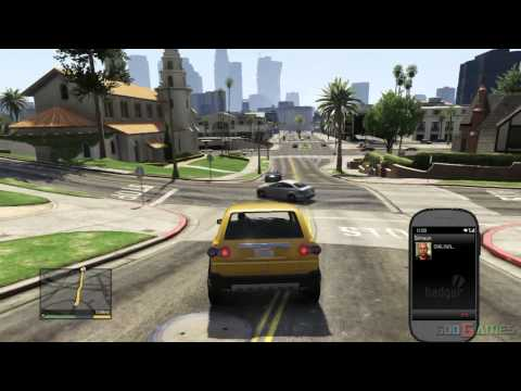 GTA V PS3 Gameplay / Walkthrough / Playthrough / 1080P Part