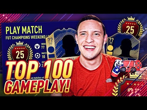 TOP 25 IN THE WORLD FUT CHAMPIONS GAMEPLAY!! FORMATION, CUSTOM TACTICS, PLAYER INSTRUCTIONS! FIFA 18