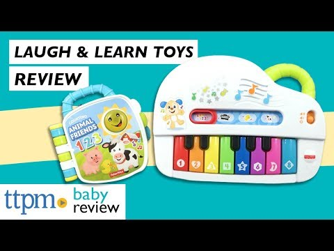[Toy Review] Laugh & Learn Counting Animal Friends &  Silly Sounds Light-Up Piano From Fisher-Price