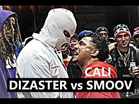 Dizaster vs Cali Smoov | AHAT Rap Battle
