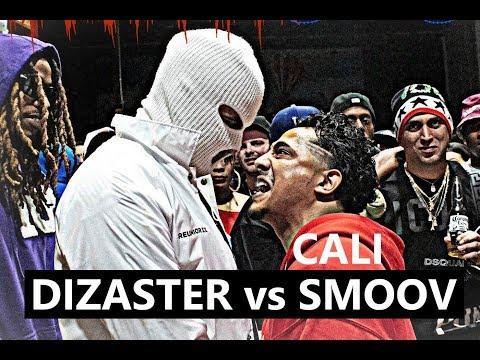 Dizaster Vs Cali Smoov | AHAT Rap Battle