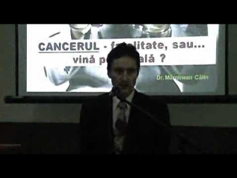 Dr.calin Marginean- Cancerul - Fatalitate Sau Vina Personala