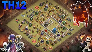 th12 war base 2018/coc th12 anti 2 star/anti 3 star/anti 1 star war base/trophy base /clash of clan