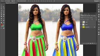 #15 Color Replacement In Photoshop