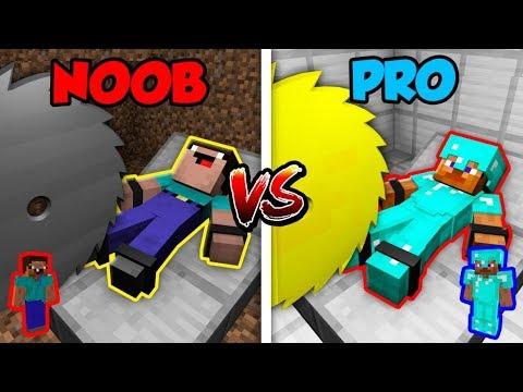 Minecraft NOOB vs. PRO: KILLER MACHINE in Minecraft!