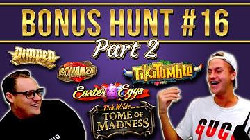 Bonus Hunt Highlights #16½ - 54 SLOT FEATURES! (€28.000 start)