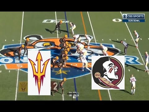 Florida State Vs Arizona State Football Bowl Game 12 31 2019