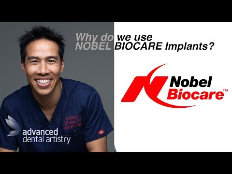 Why do we use Nobel Biocare Implants?