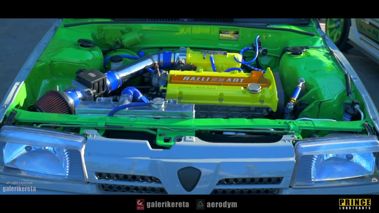 Proton Saga Iswara 4g93 - Best Engine Bay