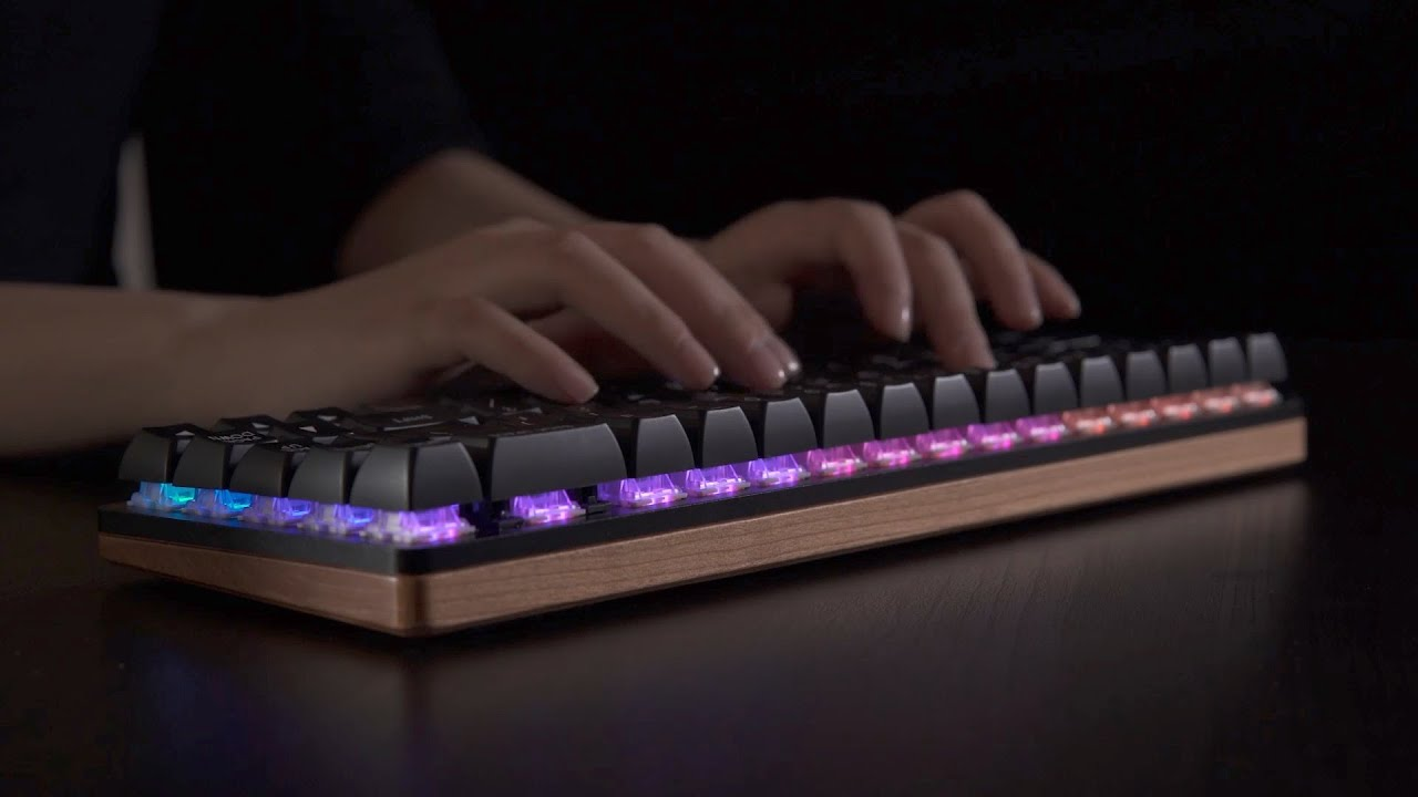 New Innovative Mechanical Keyboard Woo-Dy Vows To Ease