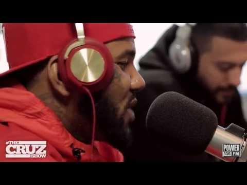 "[EXCLUSIVE] The Game ""Breakfast Bars"" Freestyle on The Cruz Show"