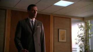 Shut the Door. Have a Seat - Draper & Cooper scene