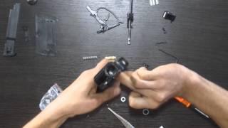 Замена ремкомплекта на пистолете Аникс 101