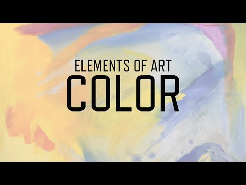 Painting Color Element Of Art