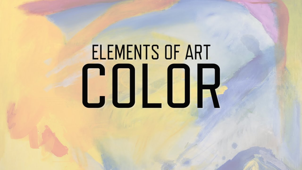 Color As An Element Of Art : Elements of art color kqed arts youtube