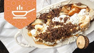 Ramazan Pidesinden Mantı Yapımı | Ramazan Yemek Tarifleri