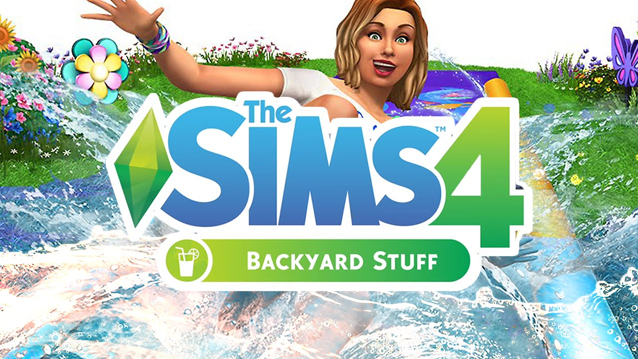 The Sims 4 Backyard Stuff Pack | REVIEW - YouTube
