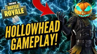 HOLLOWHEAD Skin Gameplay! In Fortnite Battle Royale