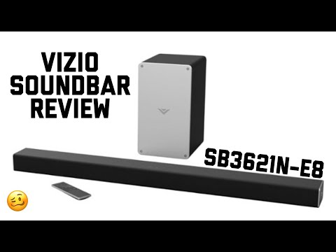 "Vizio 36"" 2.1 Soundbar SB3621n-E8 Review: Budget Bar King! from YouTube · Duration:  7 minutes 51 seconds"