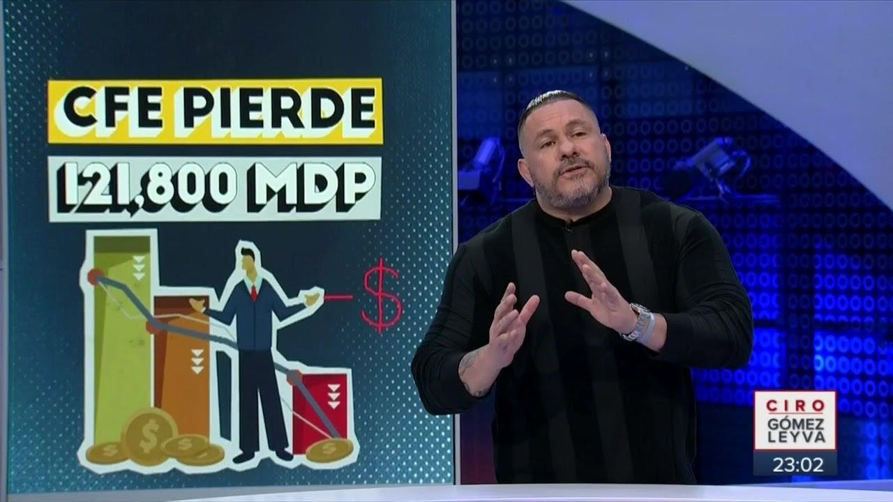 Caen ingresos de Pemex y la CFE | Noticias con Ciro Gómez Leyva