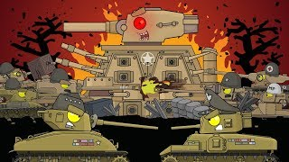 ALL EPISODES: The civil war in the USA. Cartoons about tanks