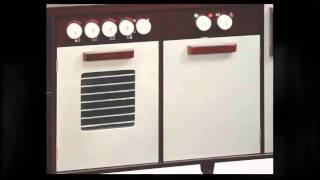 Guidecraft All In One Modern Play Kitchen G97251 - Largest Wooden Toy Kitchen