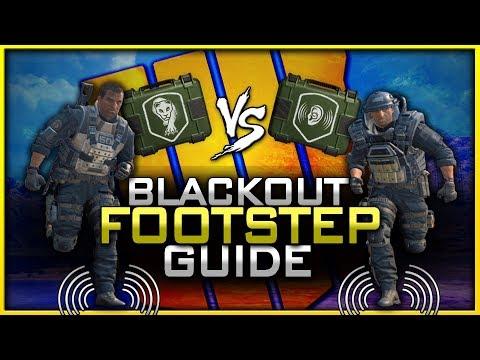 Blackout Footstep Guide! | Armor vs Dead Silence vs Awareness!