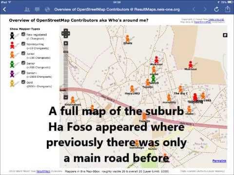 Map Lesotho
