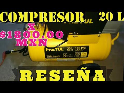 Review de Compresor De Aire Pretul 120 V 20 L| RESEÑA COMPLETA