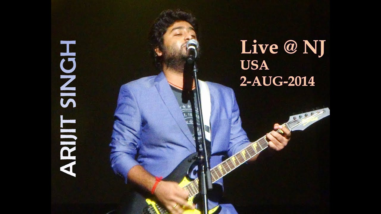 arijit singh hd awesome live concert new jersey 2 aug 2014 hd