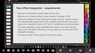 VNET Integration for Azure App Service