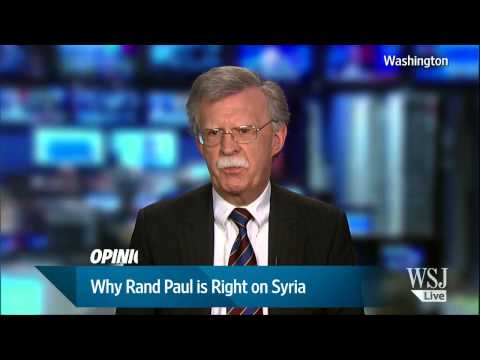 Opinion: Why Rand Paul is Right on Syria