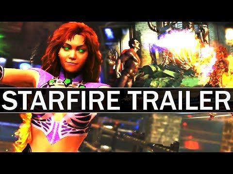 Injustice 2 - STARFIRE + BIZARRO Trailer BREAKDOWN!
