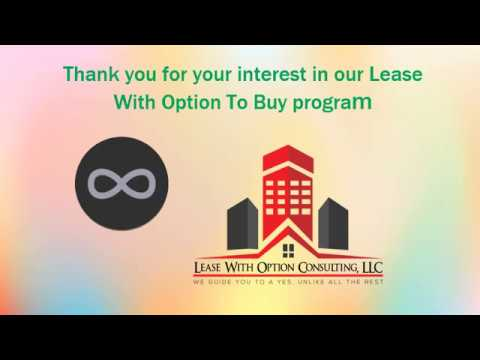 Lease With The Option To Buy Program