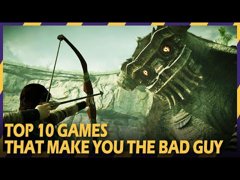 10 games where you turn out to be the bad guy