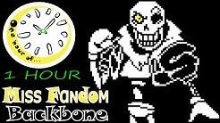 Backbone (Megalovania and Bonetrousle Remix) - Lone 1 hour | One Hour of...