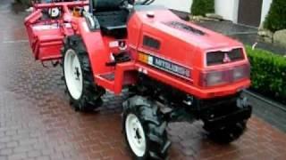 Mitsubishi MT 17 używany traktorek sadowniczy-ciągnik ogrodniczy. www.akant-ogrody.pl