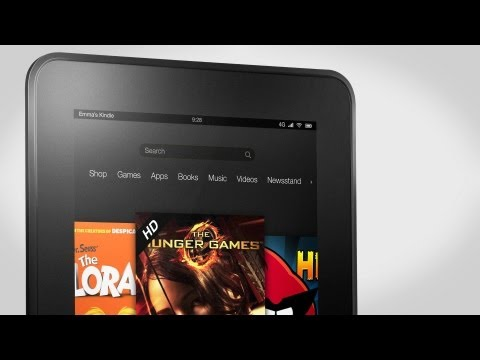 """Kindle Fire HD 7"""" & 8.9"""" 4G LTE First Look"""