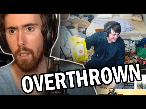 Asmongold No Longer Has The Dirtiest Room On Twitch