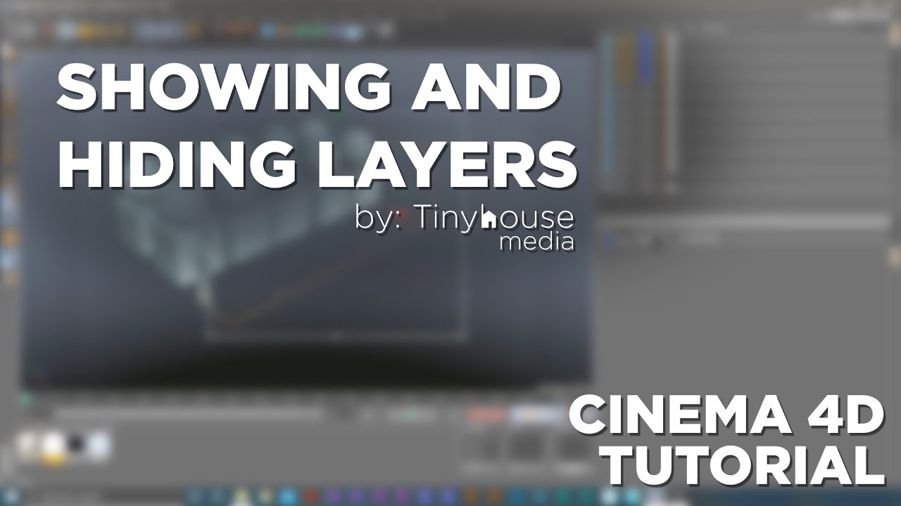 Showing and Hiding Layers - Cinema 4D Tutorial