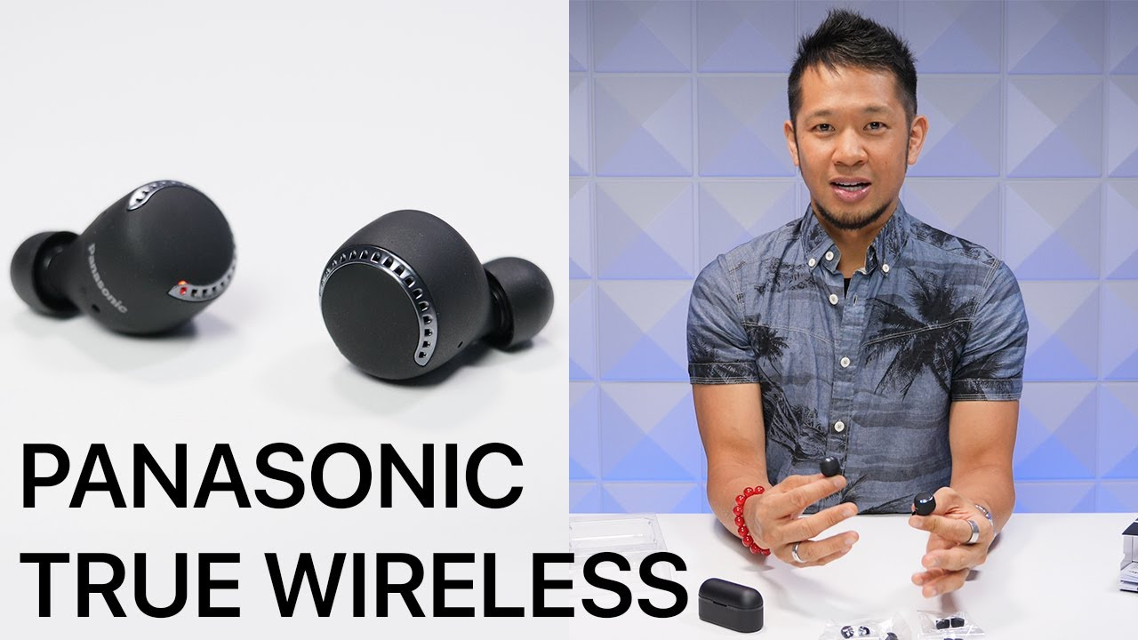 Panasonic RZ-S500W True Wireless Earbuds First Look & Unboxing!