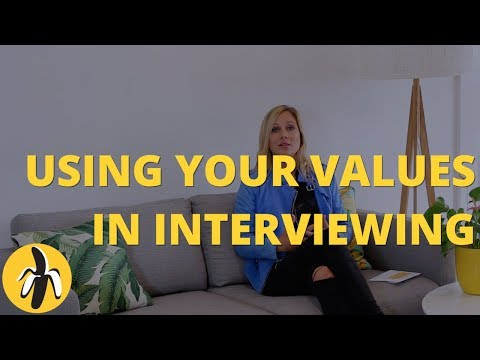How to Incorporate Your Values into the Interviewing Process