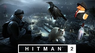 """HITMAN 2 - All Rats, Ducks, Crows and Bottles in """"The Prison"""" Siberia Sniper Map"""