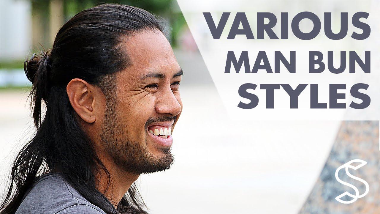 Top Knot Man Bun Style Long Hairstyles For Men Men S Hair Inspiration