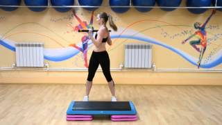 Упражнения с бодибаром для спины и плеч
