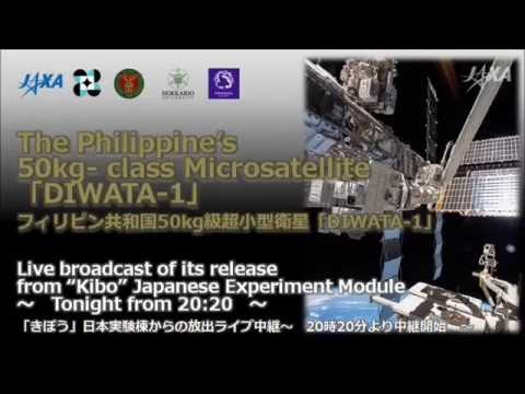 Philippines satellite release success.
